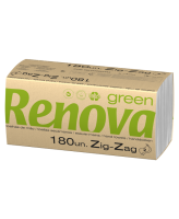 Lehträtik Renova, 2 kihiline, leht volditult 22x10,4cm, 180L/pk, 30pk/kst
