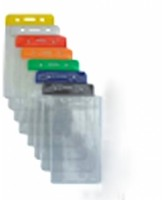 Vertikaalne PVC-nimesilditasku, 54 x 86mm