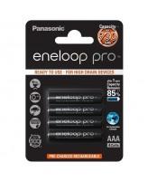Akupatareid Panasonic Eneloop Pro AAA HR03 930mAh