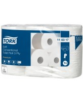 Tualettpaber Tork Soft Conventional T4 3x 34,72m (6rll/pakis)