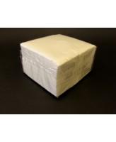 Salvrätik 24x24 cm, 1 kihiline, 400tk/pk, valge