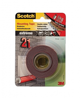 Kleeplint 3M Scotch Extreme Mounting tape kahepoolne 19x1,5mm 40021915C