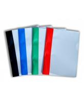 Kiirköitja A5 hall-sinine, valge klambriga