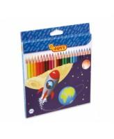 Värvipliiatsid Jovi, 24 värvi