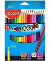Värvipliiats ColorPeps 18tk