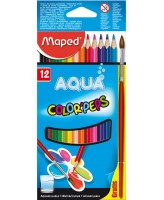 Akvarellpliiats ColorPeps 12tk + pintsel