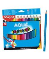 Akvarellpliiats ColorPeps 24tk + pintsel