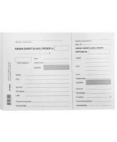 Blankett Kassa sissetuleku order A5/100L, KPF