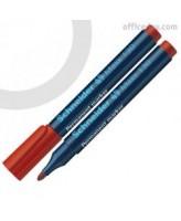 Veekindel marker Schneider 130 1-3 mm ümara otsaga, punane