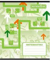 Kaustik valemitega Matemaatika A5 36L 5x5 ruut