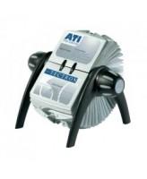 Visiitkaardikartoteek Visifix FLIP 400-le kaardile, must/hõbe