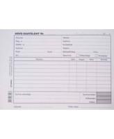 Blankett Arve-saateleht A5/100L, KPF