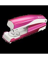 Klammerdaja LEITZ 5502 WOW, metallik roosa, 30 lehte