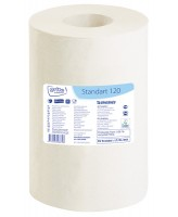 Rullrätik Grite Standart 120, 1-kih, loodusvalge, 12rll/plokis