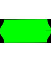 Hinnaetikett 26x12 roheline 1000tk/rll
