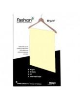 Koopiapaber Fashion A4/80g/50L 55 kollane
