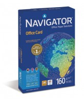 Koopiapaber Navigator Office Card A4/160g/250L