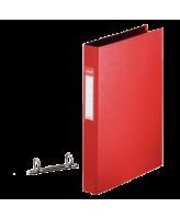 Rõngaskaaned MR250, A4 2r punane Esselte