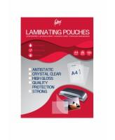 Lamineerimiskile College Antistatic A4 ( 216x303mm ) 80mic/100L, läbipaistev