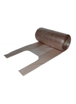 Rullkott 7kg sang, pruun, HDPE 21+12 x 50, 240tk/rll, 10rll/kst