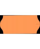 Hinnaetikett 26x12 oranz 1000tk/rullis