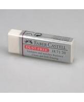 Kustukumm Faber-Castell tolmuvaba valge