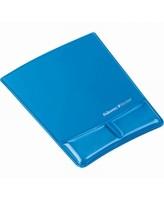 Hiirematt randmetoega Fellowes Geel, läbipaistev sinine