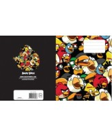 Spiraalplokk Angry Birds Grazy A4/80L 5x5ruut, spiraal küljel