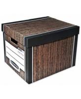 Arhiivikarp Fellowes Woodgrain Bankers Box 2tk 325x285x385mm, pruun