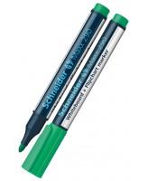 Valgetahvlimarker Schneider 290, ümar ots, roheline