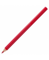 Värvipliiats Faber-Castell Jumbo Grip 21 punane