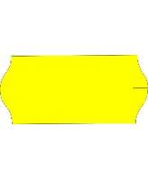 Hinnaetikett 26x16 kollane 1000tk/rullis